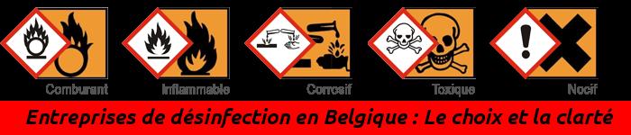 Portail des Entreprises de désinfection en Belgique